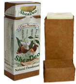 A package of SheaDeo and a refill package